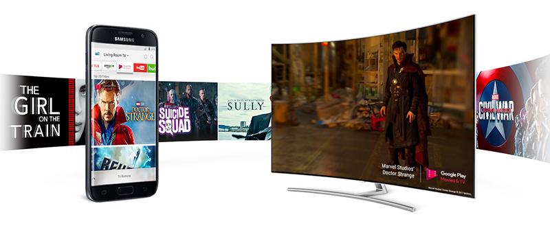 Điều khiển và chia sẻ hình ảnh lên tivi