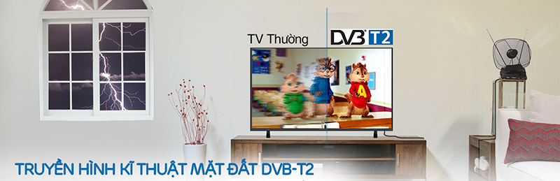 Truyền hình kĩ thuật mặt đất DVB - T2