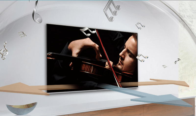 Internet Tivi Sony 40 Inch KDL-40W660E - Âm thanh trong trẻo, cuốn hút