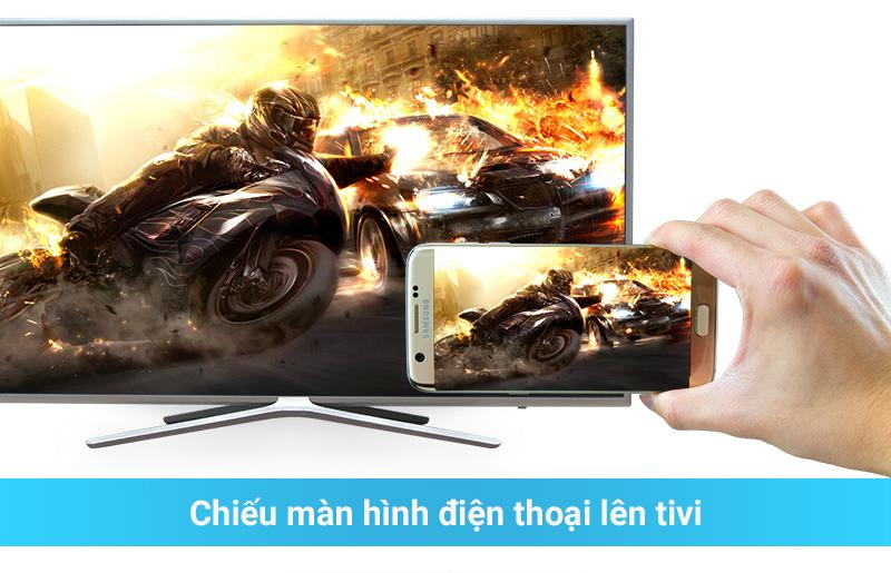 Chiếu hình ảnh từ điện thoại lên tivi