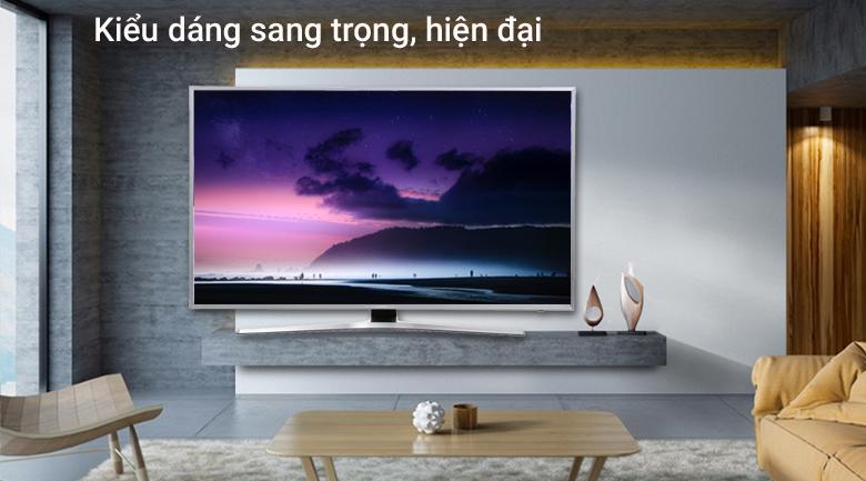 Smart Tivi Samsung 4K 55 inch UA55MU6400 hình 1