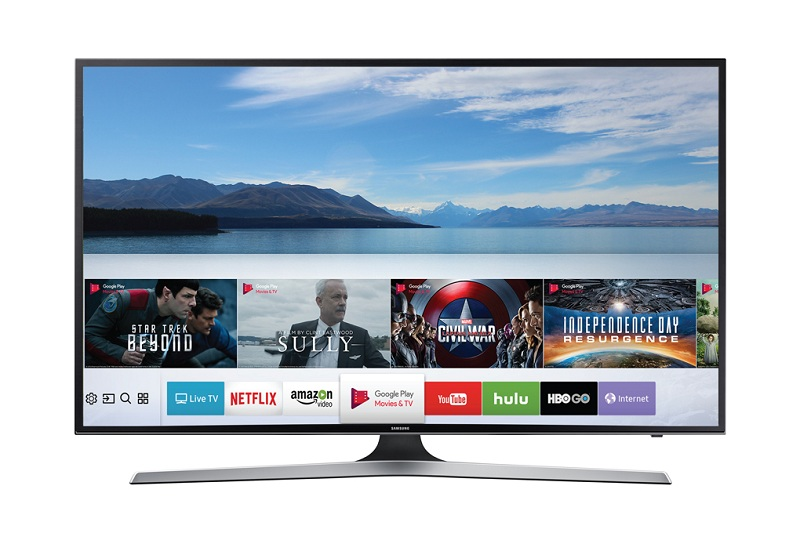 Smart Tivi Samsung 43 inch UA43MU6100 – Nhiều ứng dụng giải trí đặc sắc