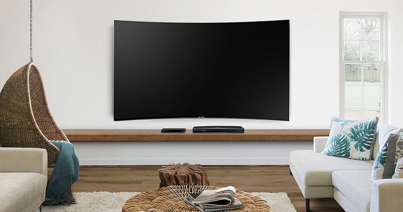 Smart Tivi Cong Samsung 55 inch UA55MU9000 - Màn hình cong đẳng cấp