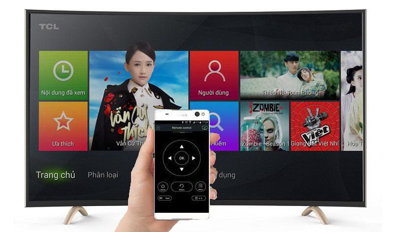 Tính năng nScreen cho phép điều khiển tivi qua điện thoại, máy tính bảng