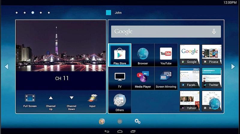 Smart Tivi Toshiba 49 inch 49U7650 - Giao diện gần gũi