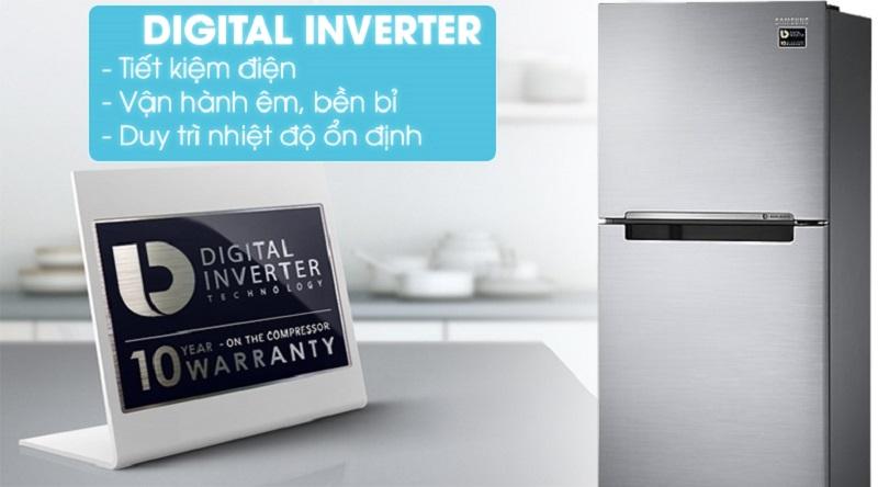 Công nghệ Digital Inverter hỗ trợ tiết kiệm điện và vận hành tốt hơn - Tủ lạnh Samsung Inverter 236 lít RT22M4033S8/SV