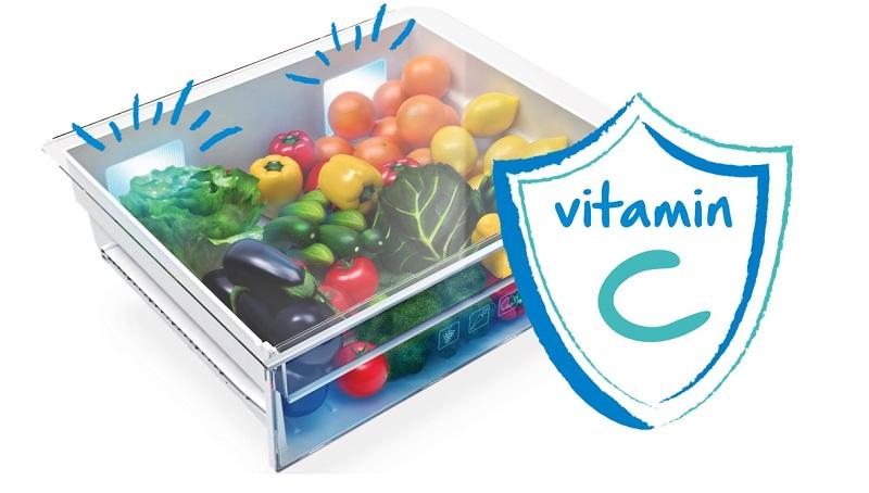 Active Blue Light giúp bổ sung Vitamin cho rau củ