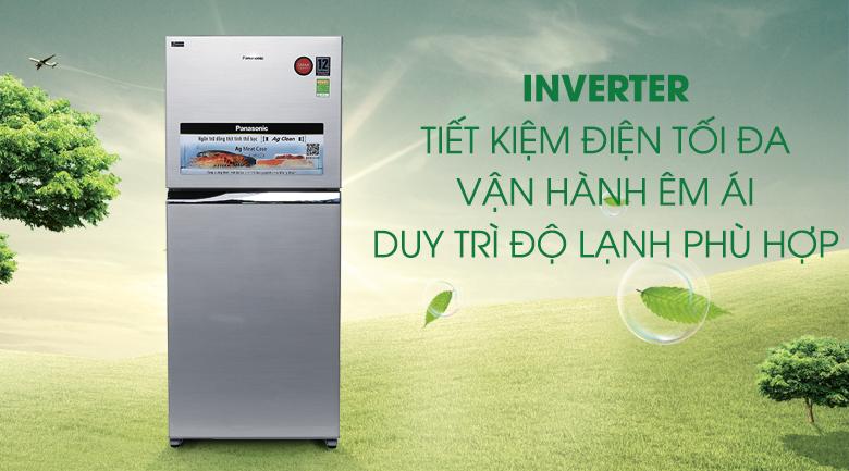 Công nghệ Inverter - Tủ lạnh Panasonic Inverter 363 lít NR-BD418VSVN
