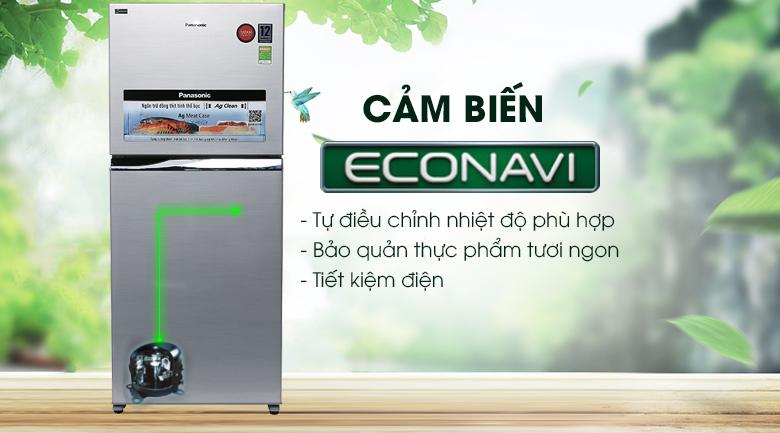 Cảm biến Econavi - Tủ lạnh Panasonic Inverter 363 lít NR-BD418VSVN