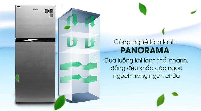 Công nghệ làm lạnh Panorama - Tủ lạnh Panasonic Inverter 405 lít NR-BD468VSVN
