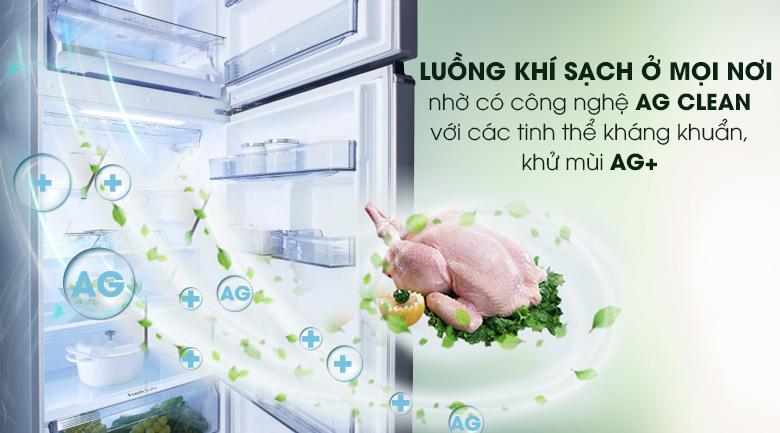 Công nghệ khử mùi Ag Clean - Tủ lạnh Panasonic Inverter 405 lít NR-BD468VSVN
