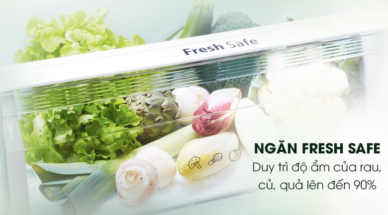 Ngăn rau quả Fresh Safe - Tủ lạnh Panasonic Inverter 405 lít NR-BD468VSVN