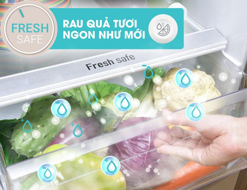 Ngăn rau quả Fresh Safe