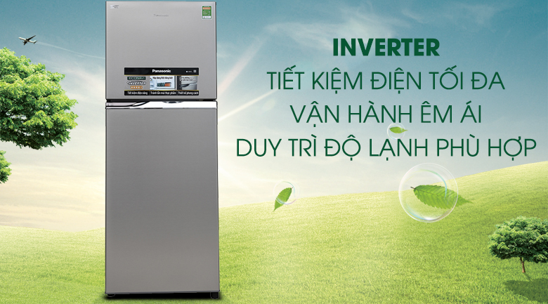 Tủ lạnh Panasonic inverter 267 lít NR-BL308PSVN - Inverter