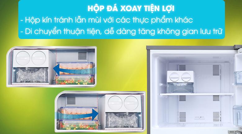 Tủ lạnh Panasonic inverter 267 lít NR-BL308PSVN - Hộp đá xoay