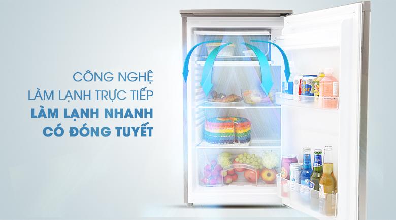Hệ thống làm lạnh trực tiếp - Tủ lạnh Beko 90 lít RS9050P
