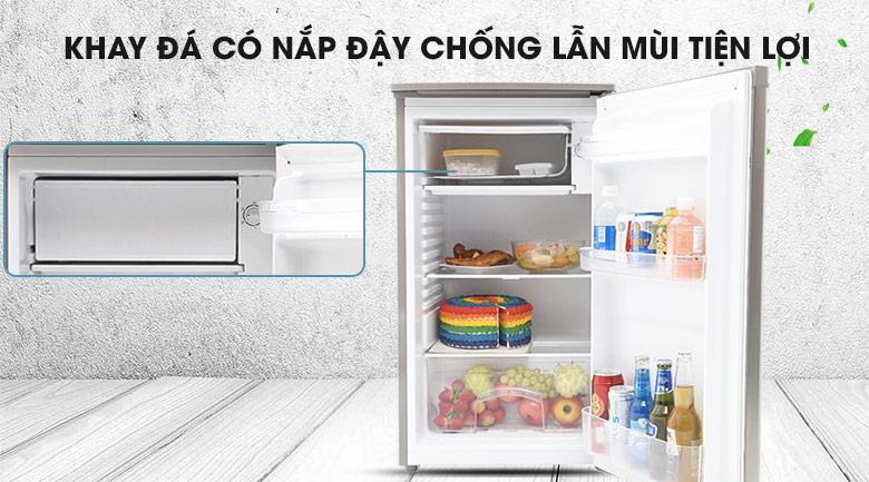 Khay đá chống lẫn mùi tiện lợi - Tủ lạnh Beko 90 lít RS9050P