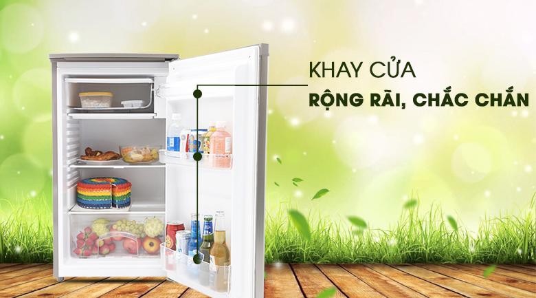 Khay cửa thiết kế rộng rãi - Tủ lạnh Beko 90 lít RS9050P