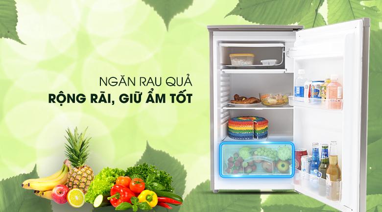 Ngăn bảo quản rau của tiện lợi - Tủ lạnh Beko 90 lít RS9050P