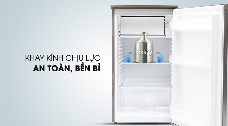 Khay kính chịu lực an toàn - Tủ lạnh Beko 90 lít RS9050P