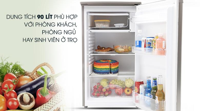 Dung tích sử dụng 90 lít - Tủ lạnh Beko 90 lít RS9050P