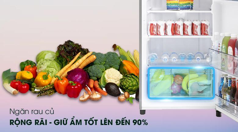 Fresh Safe cung cấp độ ẩm cho rau củ luôn tươi ngon, mọng nước  - Tủ lạnh Panasonic Inverter 303 lít NR-BL348PSVN