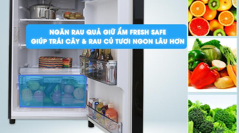 Fresh Safe - Tủ lạnh Panasonic inverter 267 lít NR-BL308PKVN