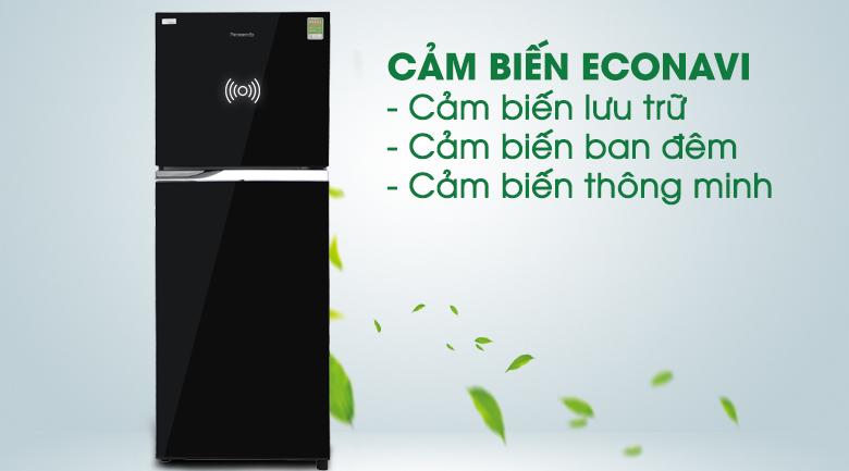 Cảm biến Econavi - Tủ lạnh Panasonic inverter 267 lít NR-BL308PKVN
