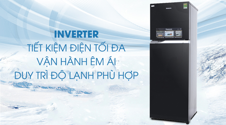 Công nghệ Inverter - Tủ lạnh Panasonic inverter 303 lít NR-BL348PKVN
