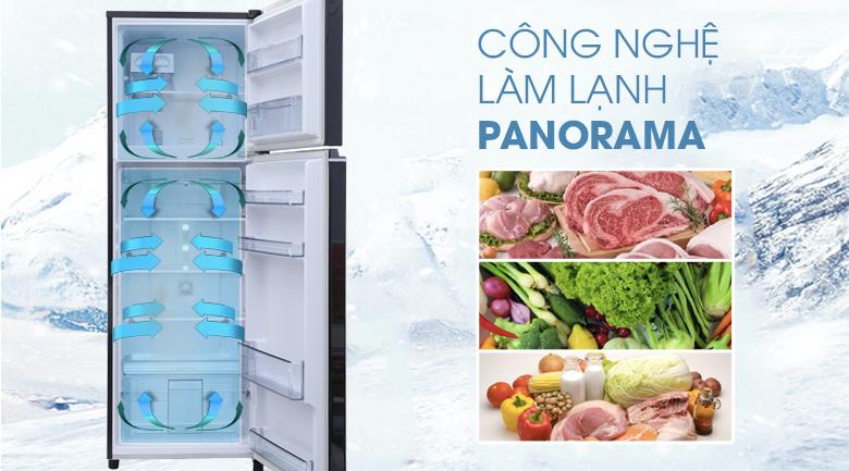 Công nghệ Panorama - Tủ lạnh Panasonic inverter 303 lít NR-BL348PKVN