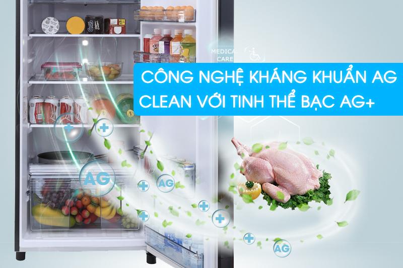 Ag Clean mang đến bầu không khí trong lành, sạch khuẩn cho tủ lạnh