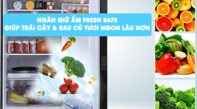 Fresh Safe - Tủ lạnh Panasonic inverter 303 lít NR-BL348PKVN