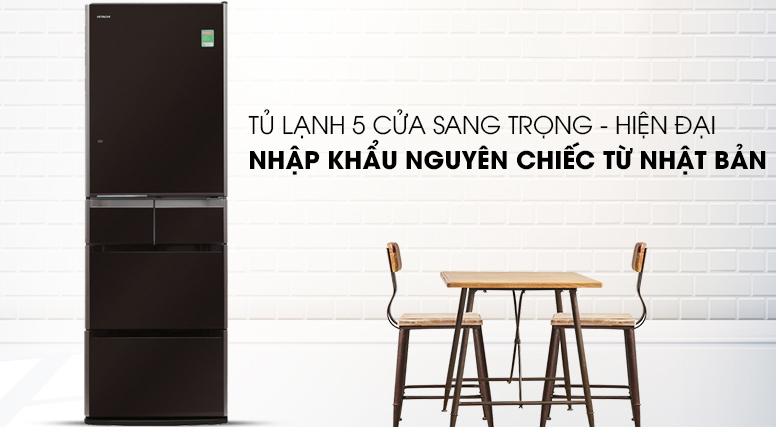 Tủ lạnh Hitachi Inverter 529 lít E5000V XT