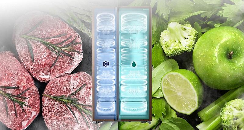 Làm lạnh hiệu quả với công nghệ Twin Cooling Plus