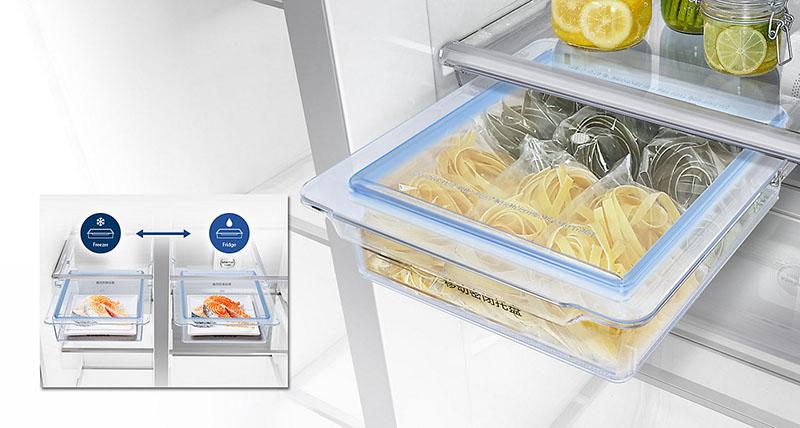 Freshzone giúp giữ độ tươi cho thực phẩm