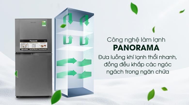 Tủ lạnh Panasonic 135 lít NR-BJ158SSV1 - Panorama