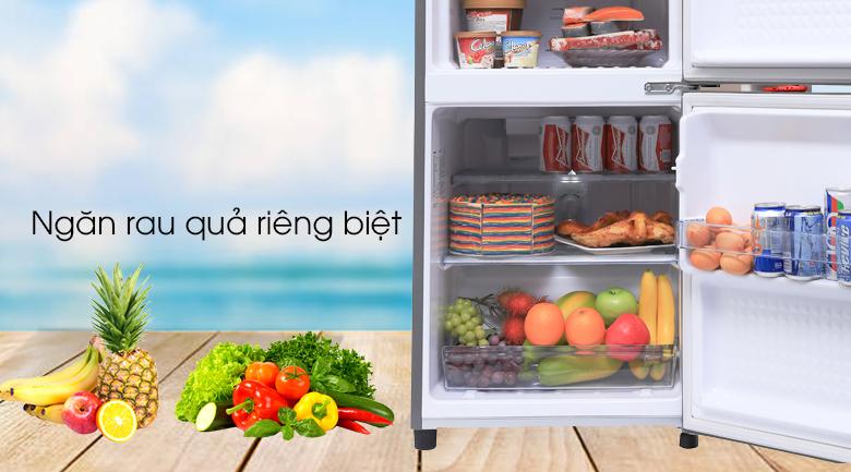 Ngăn rau - Tủ lạnh Panasonic 135 lít NR-BJ158SSV1