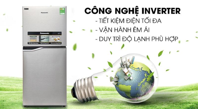 Vận hành tốt hơn với công nghệ Inverter hiện đại - Tủ lạnh Panasonic Inverter 152 lít NR-BA178PSV1