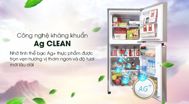 Bảo vệ sức khỏe cho bạn với công nghệ kháng khuẩn Ag Clean - Tủ lạnh Panasonic Inverter 152 lít NR-BA178PSV1