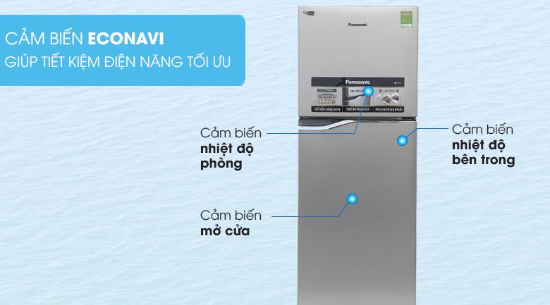 Cảm biến Econavi - Tủ lạnh Panasonic Inverter 188 lít NR-BA228PSV1