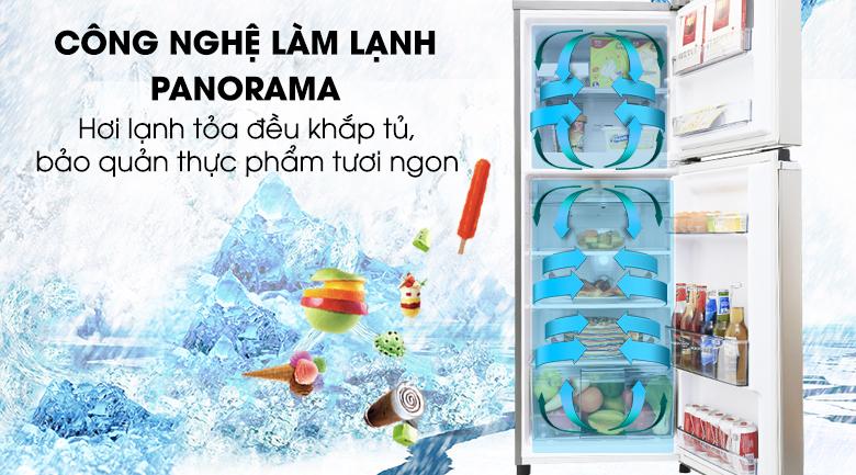 Công nghệ Panorama - Tủ lạnh Panasonic Inverter 188 lít NR-BA228PSV1