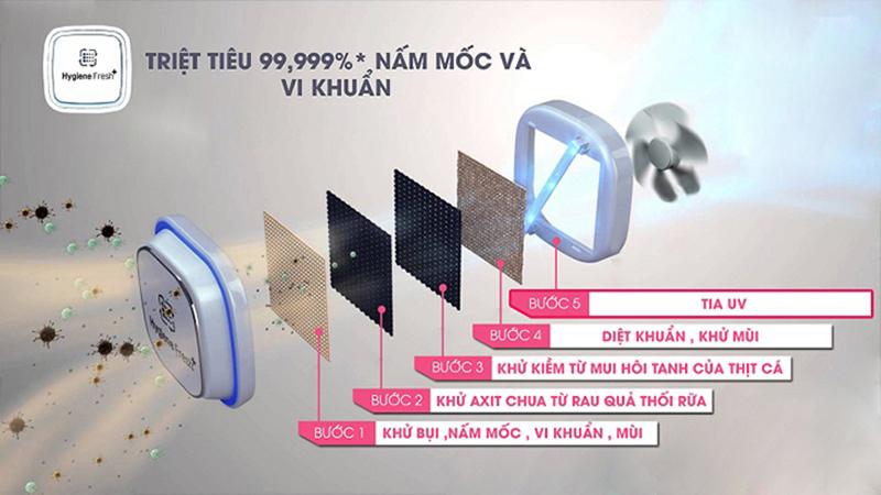 Bộ lọc kháng khuẩn Hygiene Fresh + TM