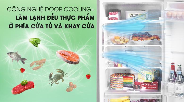 Làm lạnh nhanh, đồng đều với DoorCooling - Tủ lạnh LG Inverter 208 lít GN-L208PS