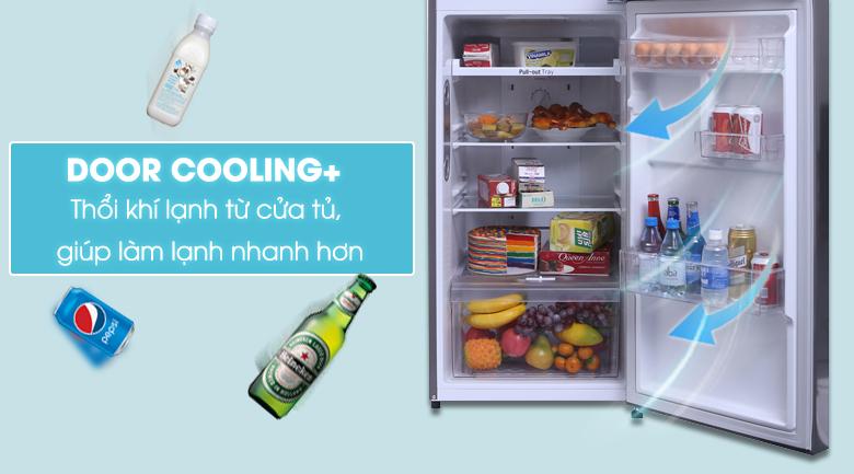 Làm lạnh từ cửa tủ DoorCooling+
