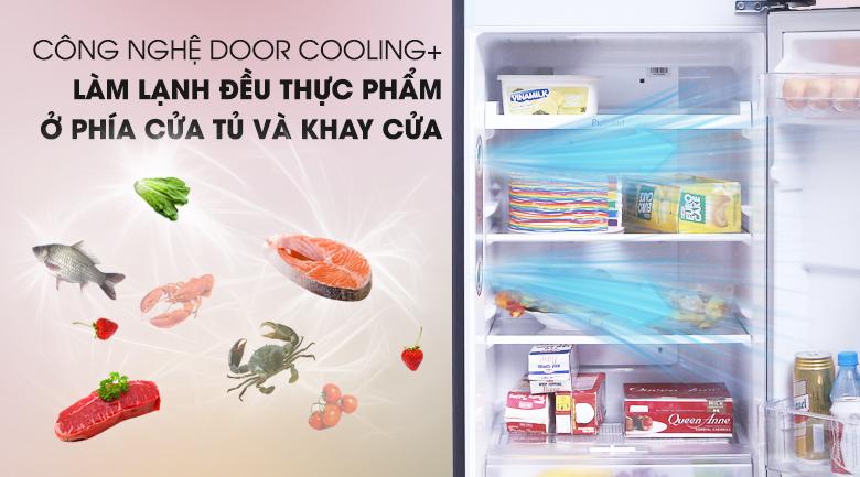 Làm lạnh nhanh, đồng đều với DoorCooling - Tủ lạnh LG Inverter 208 lít GN-L208PN