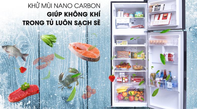 Công nghệ Nano Cacbon bảo vệ sức khỏe gia đình bạn - Tủ lạnh LG Inverter 208 lít GN-L208PN