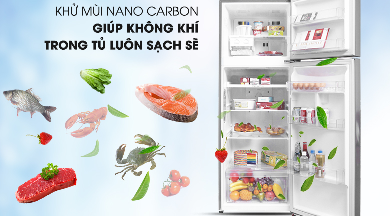 Công nghệ Nano Cacbon - Tủ lạnh LG Inverter 315 lít GN-L315PS