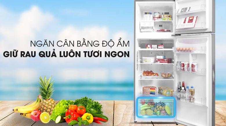 Ngăn bảo quản rau củ chuyên biệt - Tủ lạnh LG Inverter 315 lít GN-L315PS
