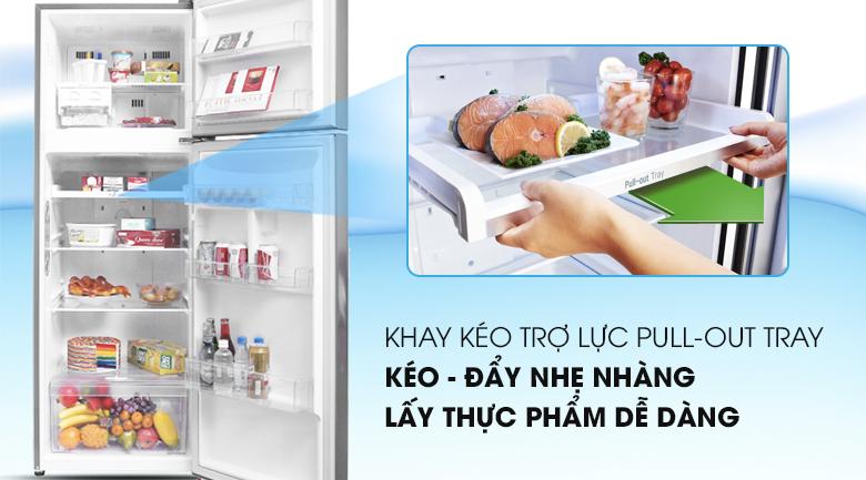 Khay kéo thay đổi linh hoạt - Tủ lạnh LG Inverter 315 lít GN-L315PS