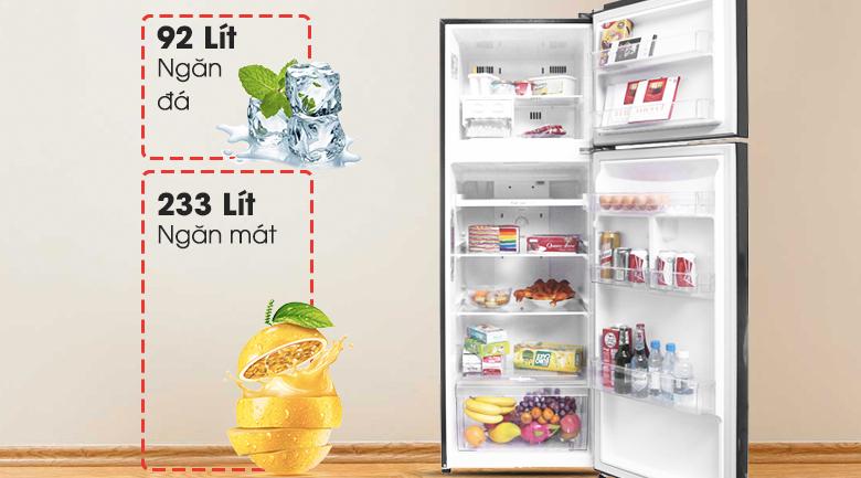 Dung tích 315 lít - Tủ lạnh LG Inverter 315 lít GN-L315PN